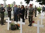 St-Michel 2015 – Hommage au Cne Mezzasalma et Adieux aux Armes du Major Hass