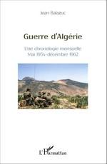 Guerre d'Algérie – Chronique mensuelle