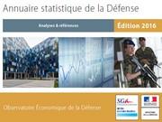 Annuaire statistique de la Défense 2016